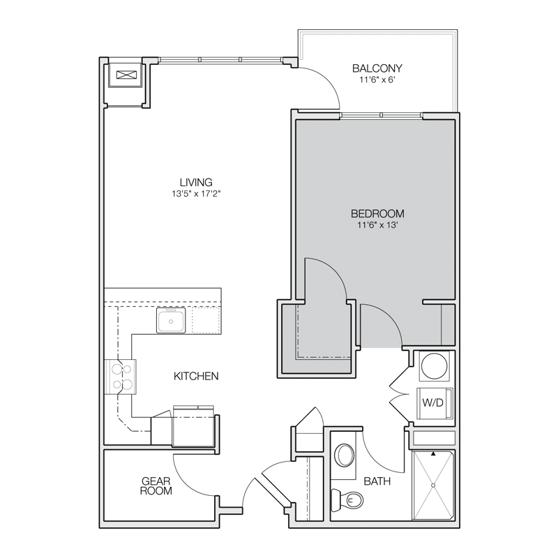 Apartment Floor Plans - Greenbelt Apartments