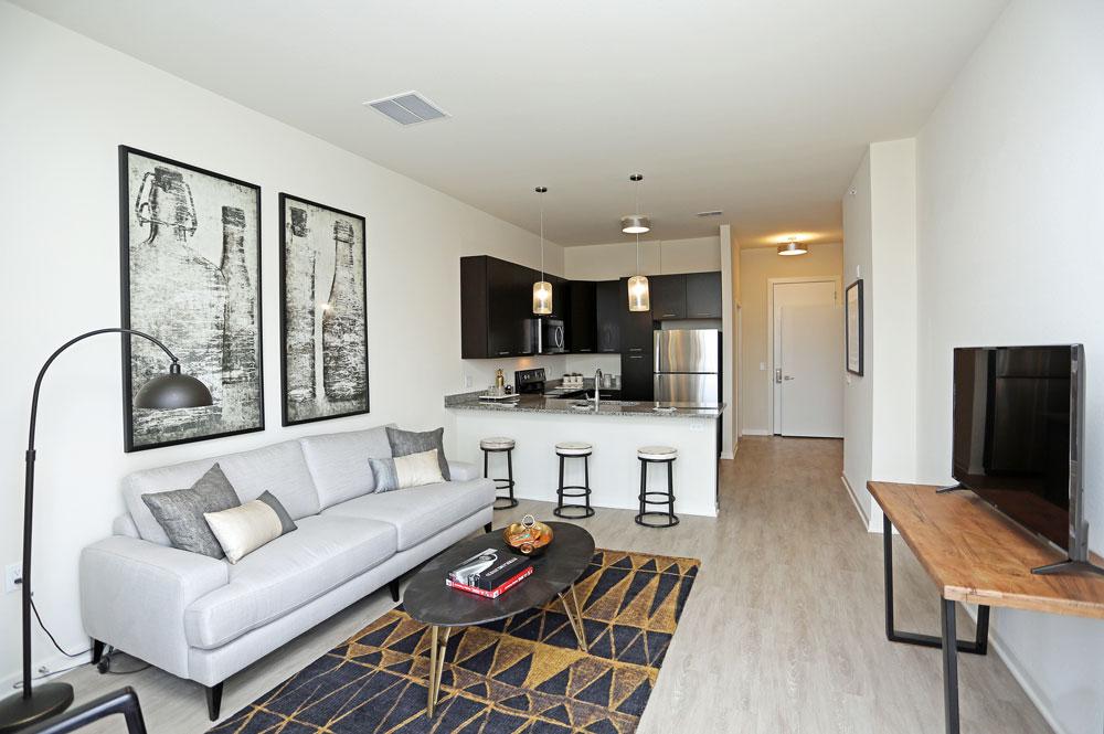 Greenbelt Apts Interior Livingroom 1